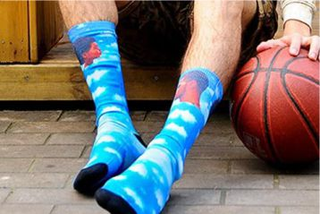 Socks are a new way to express yourself